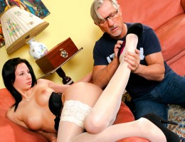 Corina\'s Beautiful Feet Will Make Your Cock Go Harder!