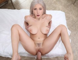 Skylar Vox gets a sexy, oily massage, and gets fingered to orgasm.