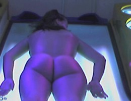Voyeur webcam nude girl in solarium part32