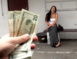 12 pics and 1 movie of Brylee from Street Blowjobs