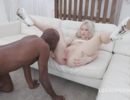Nikki Hill first Time BBC with balls deep anal, Gapes, Swallow GIO1132