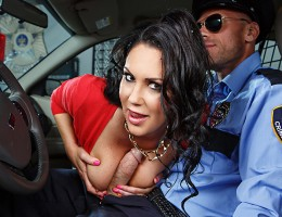 Busty MILF schoolteacher Dayton Rains insisted she was innocent as she was getting arrested for stealing a watch, but the officer cuffing her was having none of it. It was only when Dayton recognized the officer as her former pupil Johnny Sins that he sta