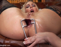 Hot babes in extreme kinky anal fetish sex.