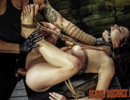 We have a porn newbie, the curvy and sultry Kali Kavalli. She tells us a bit about herself and the boring sex life she\'s had. Disgrace and domination seemed like the perfect thing to get the boat rocking. We tell her some of the BDSM fun her new Daddy li