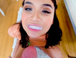 Were on an Asian roll!  So have to throw in another great one, Brenna Sparks.  This cutie is like all of our BIG GULP GIRLS, hungry for some cum to swallow.  She is so fucking cute its easy to get hard just looking at those long legs, great ass, tight