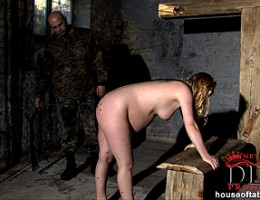Pregnant Sunny gets spanked & waxed by military guy Joe