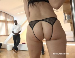 Eloa Lombard milf whore enjoys five black cocks & gets DAP\'ed IV106