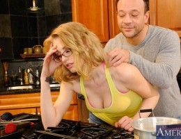 Allie James gets invited to her neighbor\'s, Kurt\'s, house for dinner. She\'s not really impressed by his cooking skills as he only knows how to make packaged ramen. Kurt thinks that maybe she needs to relax before dinner so he starts massagi