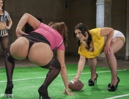DP, Pussy and ass Fistings, Everyone gets fucked on this sexy football team.