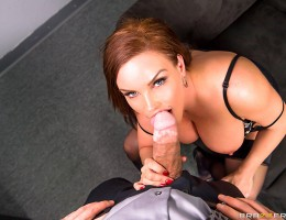 Diamond Foxxx has been flirting with her boss Erik Everhard for months now, but he never seems to take the hint. Finally out of patience, she decides to mess with Erik\'s head a little. First she leaves him a sexy note in his office, and then she leaves o