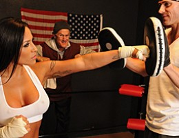 Jenaveve is a two time Boxing champ was forced to retire early because of her sex addiction. She wants another shot at the title and it looks like the very problem that has kept her out of the ring might just be ther only thing she has to offer to get bac