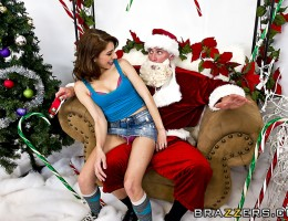 Santa Sins is working at the mall when along comes a naughty little slut by the name of Lexi Bloom. When she tells Santa that all she wants for christmas is something that starts with