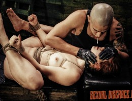 One of our favorite BDSM pain pigs, an authentic submissive slut for real domination, the sex Rose Red Tyrell, is back in the dungeon for more training. She loves rough anal sex and has offered her asshole and pussy to her new hung Daddy Sir. Perfect! Her