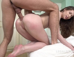 Double Cumshot anal casting, Sony Smile meets Oliver, Balls Deep anal, Facial GL034