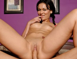 Crissy's study break leads to a pussy filled with hard cock