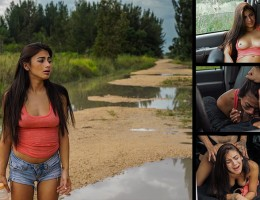 You can always tell certain girls like rough sex, and 19 year old Michelle Martinez is exactly that kind of girl. This teen slut is down for ANYTHING?