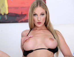 Busty German delight Cam Angel is a total milf with big boobs and a flat belly. Watch this fantasy come to life as she pulls out her titties and bald cunt to rub herself down with massage oil before she drives two fingers deep into her tight fuck hole to
