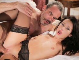Steven and Megan unleash raw passion in this awesome scene