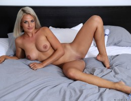 Looking hot as hell in sexy lingerie, Nicole Vice is a dream come true. This Czech milf is stacked and toned, with nipples she loves to pinch and a bald pussy that creams for a lover\'s touch. Watch her pull out a magic wand vibrator and work her clit to