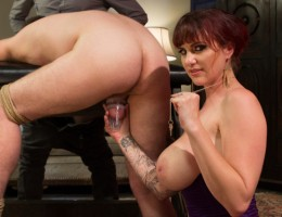 Berlin & husband venture into a all night cuckolding fuck fest that ends with her husband watching her get fucked & him taking cum to the face.