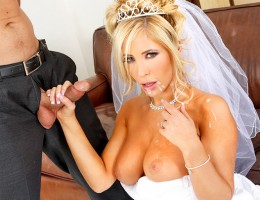 Its Tasha Reigns wedding day. Shes got a little bit of cold feet though because she realizes that she will never be able to fuck anyone else for the rest of her life. Luckily, her fiancess best man, Ryan, is there to help her out. Ryan and Tasha a