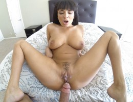 French slut wants to show you how wet her pussy is