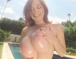 Hey guys! I have my sexy big tits busting out of my mint bikini for you today. So if you are in the mood for some eye-popping shots of bikini-popping big boobs, then this is the perfect fit for you.