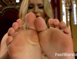 FemDom POV sweaty foot fetish!
