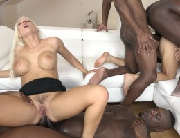 Blanche Bradburry & Ninel Mojado - more sex for two desperate bitches Part - 2 IV0135