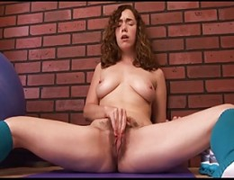 GERMAN TEEN WITH HAIRY PUSSY SQUIRTING