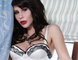 Hot slut gets double teamed outside a mansion