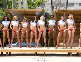 Check out hot ass bikini contestant number 10 get banged by the pool in these hot bikini contest fuck movies
