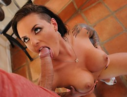A few days after their breakup, Christy Mack\'s ex-boyfriend sends his friend, Keiran Lee, over to Christy\'s place to pick up some of his stuff. Little does Keiran know Christy is looking for a revenge fuck. No matter how good of a friend he is, She know