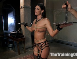Anal MILF India Summer graduates from the Training of O after learning her principles of servitude. Hot anal fucking, pain processing, endurance
