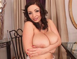 Horny French Maid Michelle shows off her big tits & hot body