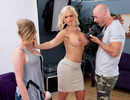 Alena Croft\'s daughter Lindsay just turned 18, and she\'s bound and determined to be famous some day. But when Alena catches her shaking her titties for some sleazy photographer named Johnny Sins, she does what she has to do to distract him and stop Lind