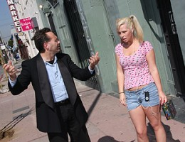 Tara Lynn Foxx would rather pay attention to black cock than her nagging father.