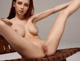 Skinny and busty Helga Gray Second Casting