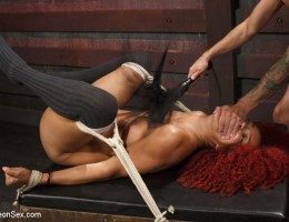 Bondage and Rough Sex with Daisy Ducati