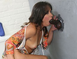 European slut gets her first black cock