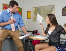 Cassidy Klein is failing in a course about love. Professor Parker has only one way to teach, and that\'s with his huge teaching stick. Will Cassidy pass?