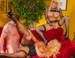 Slutty daughter seduces mom's new boytoy, and mom is PISSED!