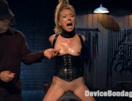 Brutal punishment and unbelievable orgasms.