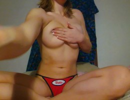 Check out this super hot video ob the busty blonde kylie shake her money maker on video