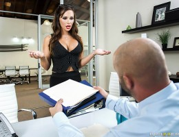 Destiny Dixon is sick and tired of her boss Mr. Big treating her like garbage just because she\'s a busty slut who loves cock. So when she gets left alone in the office when Bill Bailey comes in for a job interview, she decides its time for a little sexy