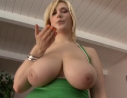 Blonde with huge tits fucked pov m22