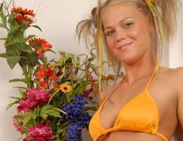 Naughty teenage myspace blonde enjoys a good hard fucking