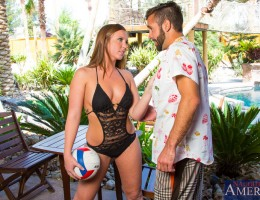 Maddy O\'Reilly has been receiving volleyball lessons from Daniel. Since it\'s a bit windy out Daniel is looking to postpone his current lesson, but Maddy has other ideas. Since she can\'t take lessons on how to spike the ball she insist that they go back
