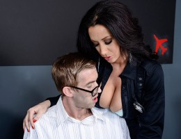 The big day has finally arrived: Danny D has landed in America! But before he can even get out of the airport, trouble finds him in the busty form of Officer Jayden James. She\'ll find out what this sneaky Brit does for a living if she has to fuck it out