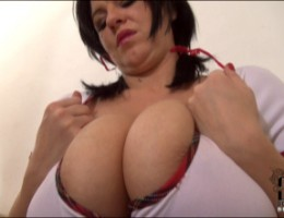 Polish Schoolgirl Kora Busts Out With Her 36DDD Gazongas